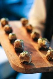 Deviled Crab Stuffed Mushrooms