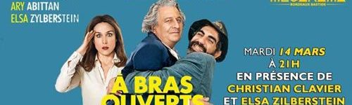 Affiche Avant Première Film A_bras_ouverts
