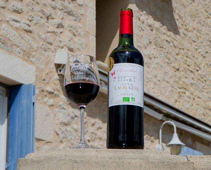 Vignobles Lopez Château Lagrugère médaillé vin bio Bordeaux