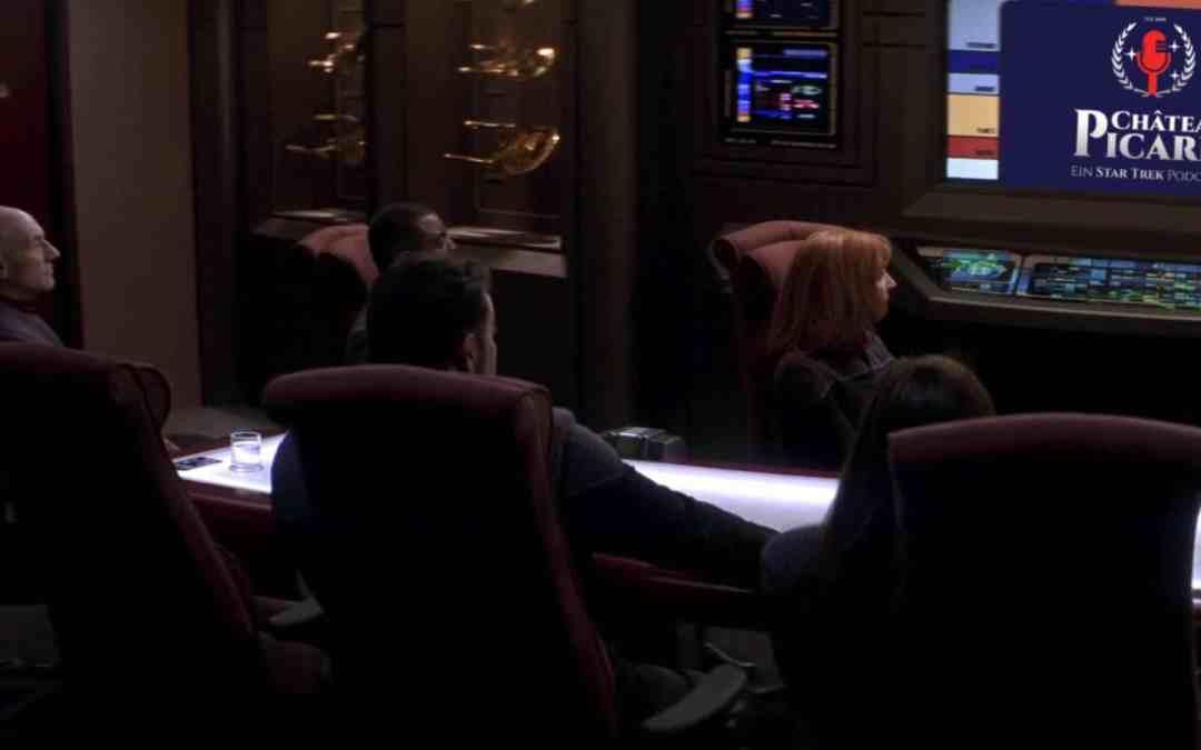 Redaktionskonferenz vom Château Picard: Ein Star Trek Podcast