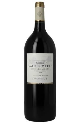 Achat vin bordeaux superieur vieilles vignes chateau sainte marie