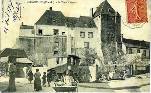 chateau-de-Senonches-en-1907