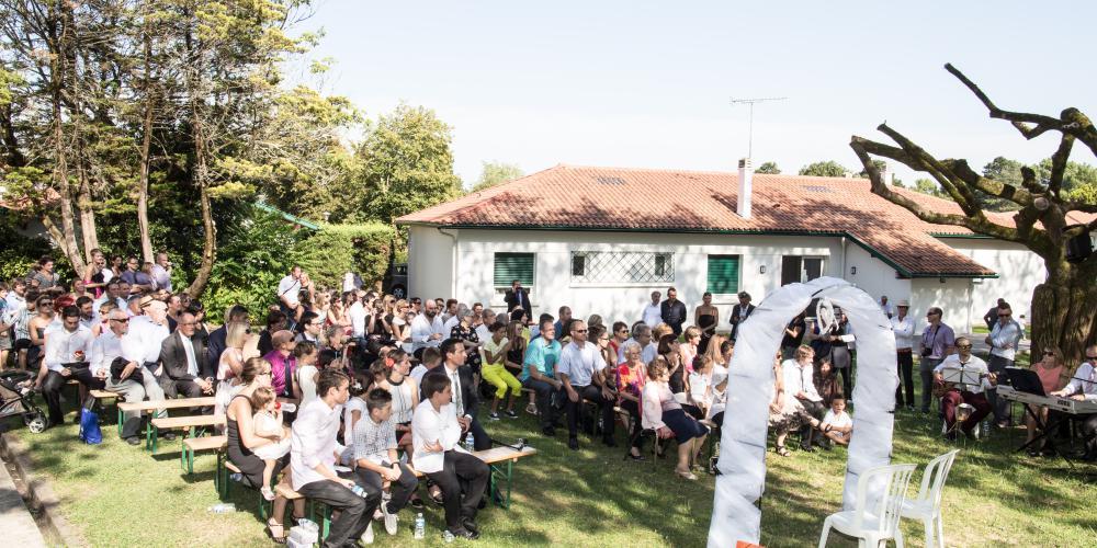 location salle mariage pays basque