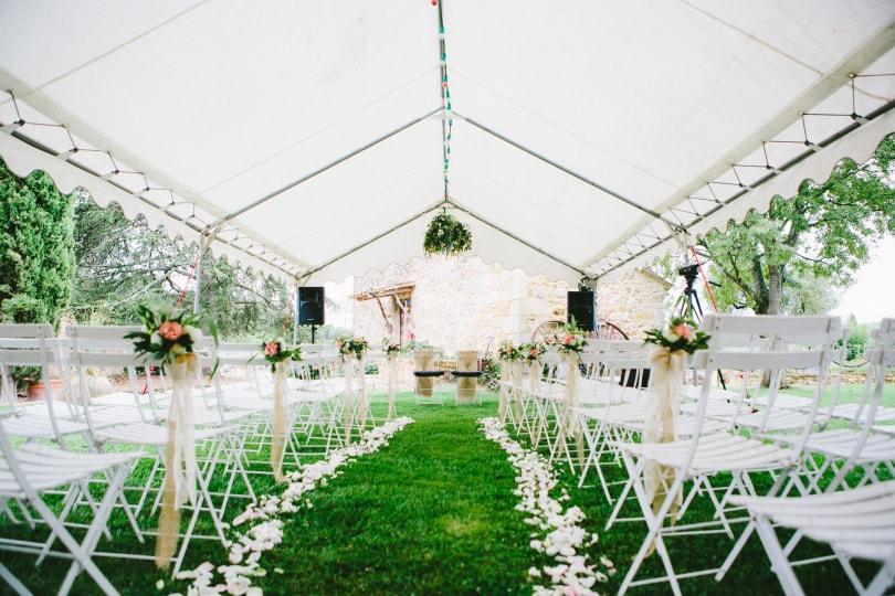 organisation mariage dans son jardin