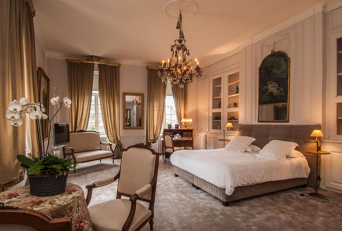 chateau de labro chambre deluxe de meynier