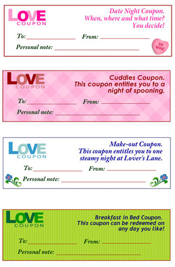 Free Love Coupons Chatelaine