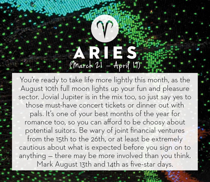 August 2014 Horoscopes Chatelaine