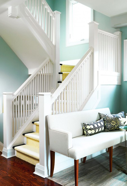 15 Hallway Decorating Ideas To Make Coming Home A Treat   Chatelaine 3  Use furniture