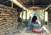 hand-built kiln