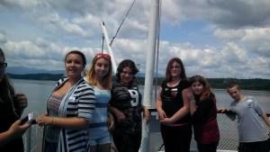 Mentoring Trip on the Hudson CMS 2014