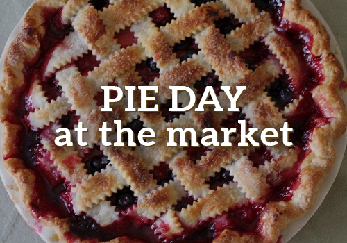 Pie Day at the Market
