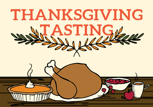 Thanksgiving Tasting