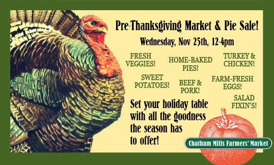 This Week: November 25th, 12pm to 4pm!