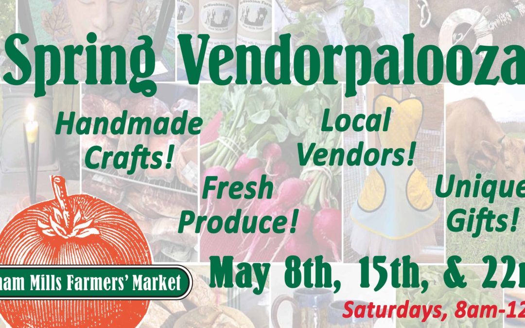 Saturday, May 15th, 8am to 12pm!