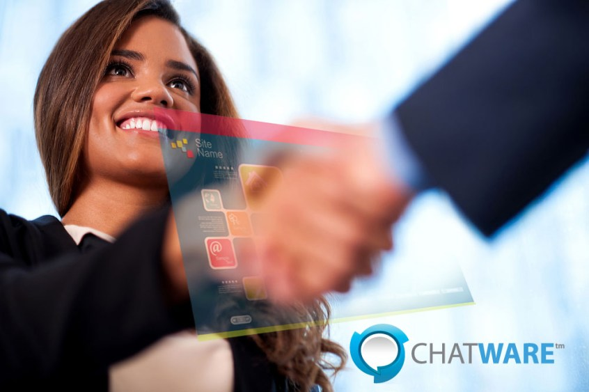 Greet every visitor on your website with a virtual handshake with ChatLead award-winning software