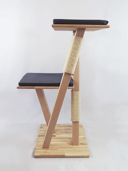 Arbre à chat en bois 'Edelweiss'