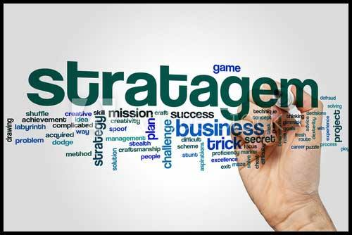 Learn Stratagem Meaning and Grammar Usage
