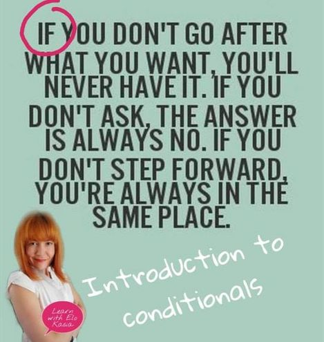 Conditionals in English Grammar Chatsifieds