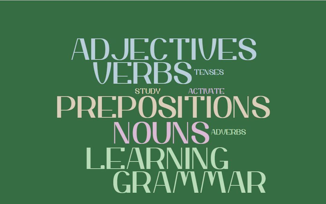 8 Ways To Learn English Grammar Faster