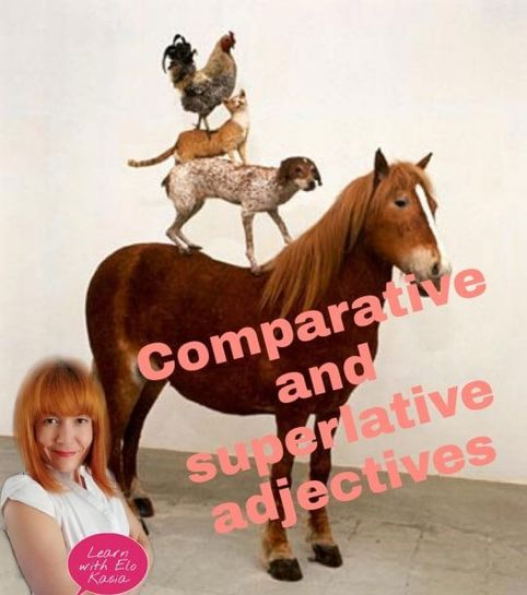 Adjective Degrees When to use Comparative and Superlative adjectives Chatsifieds
