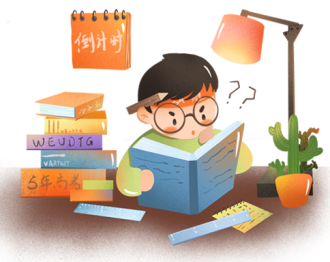 English student preparing for English test and exams reading chatsifieds easy english