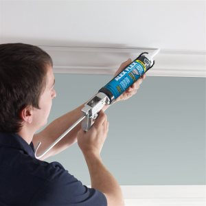 Contractor painting the ceiling | Chattanooga Home Inspector | paint like a pro Chattanooga