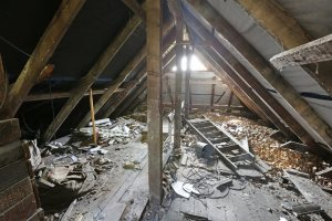Disaster Attic   Chattanooga Home Inspector   Attic Chattanooga
