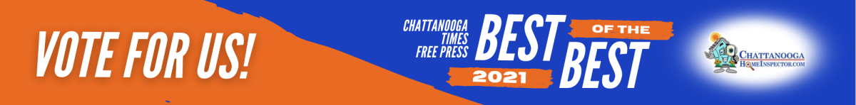 Chattanooga Times Free Press Best of The Best 2021 Vote for Us Banner Chattanooga Home Inspector