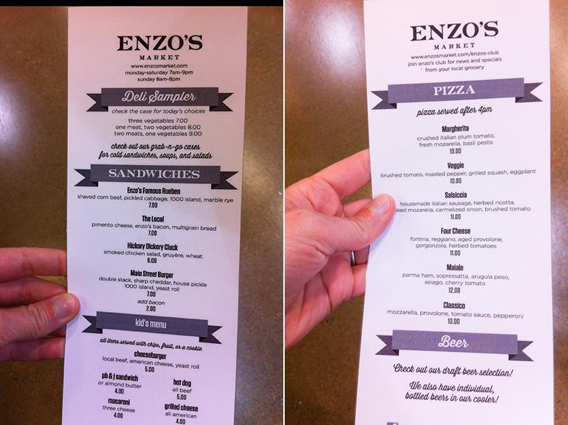 enzo's market café // chattavore