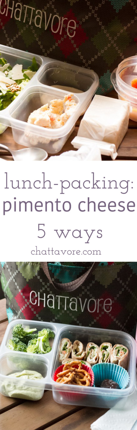 The same lunch every day can get old, but if you eat pimento cheese 5 ways you can keep it fresh and interesting for a whole week! | recipe from Chattavore.com
