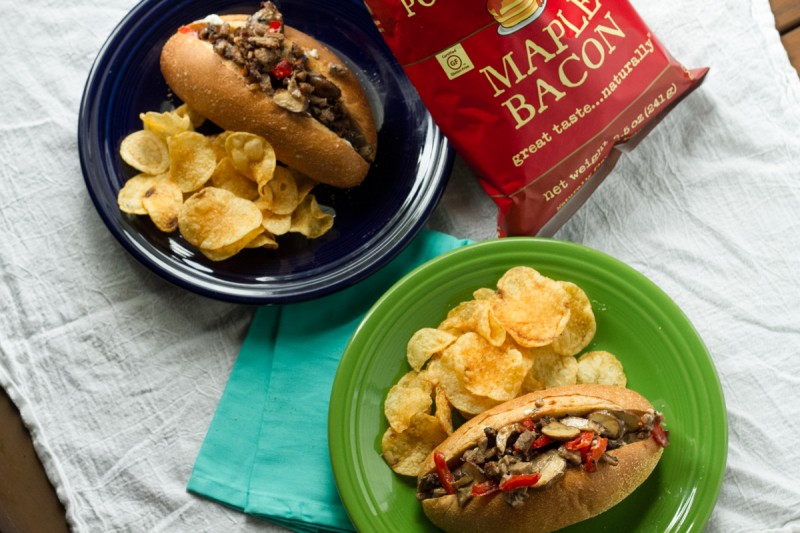 It's pretty difficult to make a great homemade Philly cheesesteak, but this recipe pretty much nails it, with crispy browned beef and perfect melted cheese! | recipe from Chattavore.com