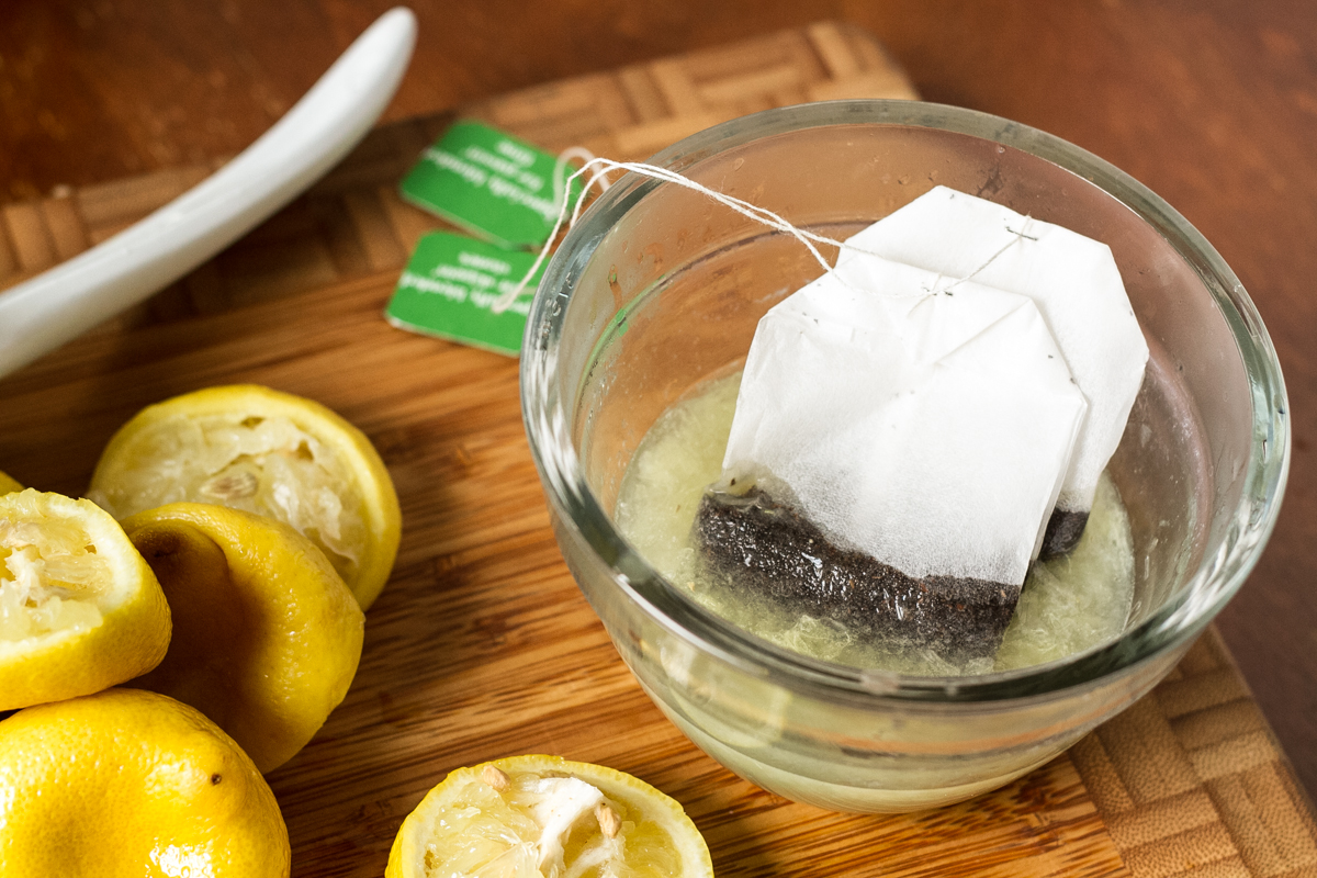This sweet tea lemonade tart was perfect, tart, sweet, cold, gooey ...