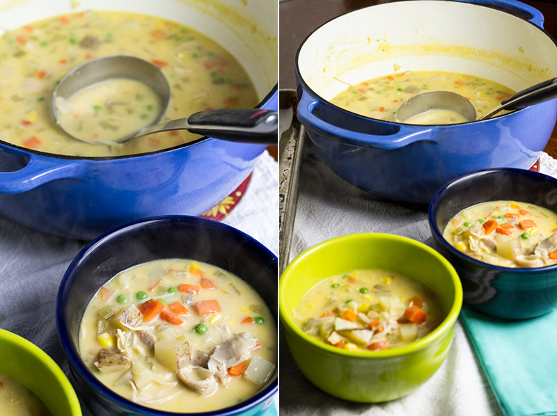 turkey pot pie soup | chattavore