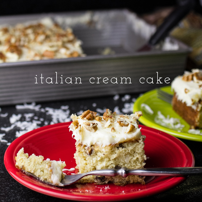 italian cream cheese cake italian sheet cake chattavore 5184