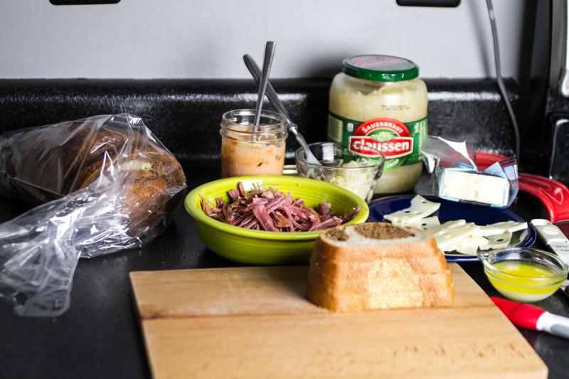 homemade reuben sandwiches // chattavore