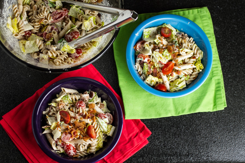 Chattavore.com | BLT pasta salad is a BLT sandwich in a bowl!