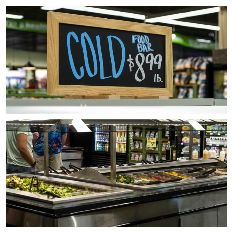 Harvest Grocery Cold Bar