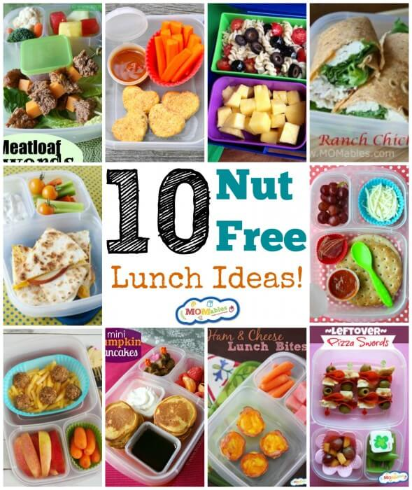 10 Nut-Free Lunch Ideas from Momables