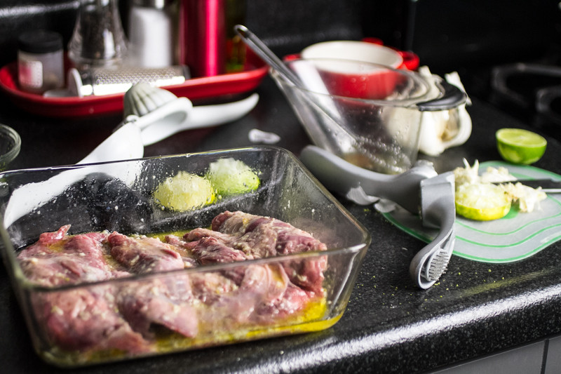 This marinated skirt steak with cilantro-lime ghee is a simple, quick weeknight dinner. And it's paleo, from the new cookbook Paleo Planet by Becky Winkler of A Calculated Whisk.   chattavore.com