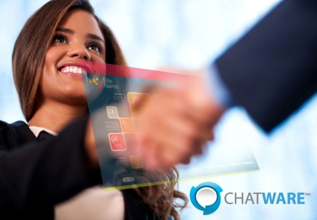 Greet every visitor on your website with a virtual handshake with Chatware award-winning software