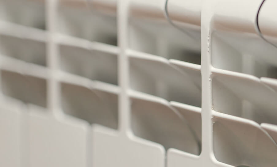 Radiateur A Inertie Avec Coeur De Chauffe En Aluminium