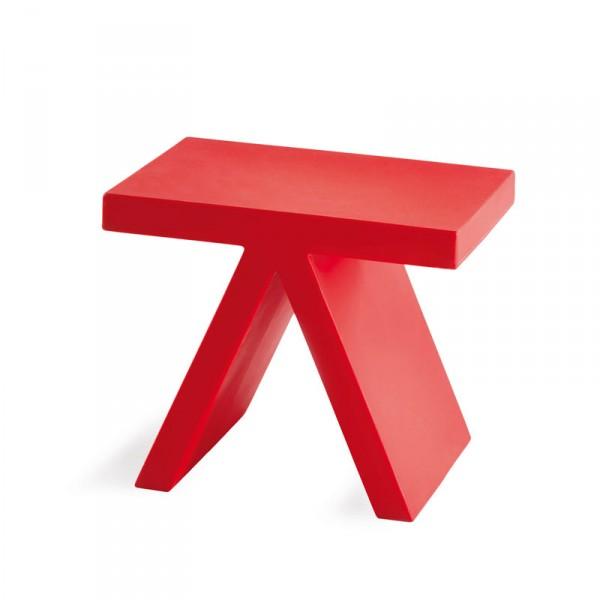 tabouret table d appoint fun pour exterieur ou interieur en polyethylene couleur