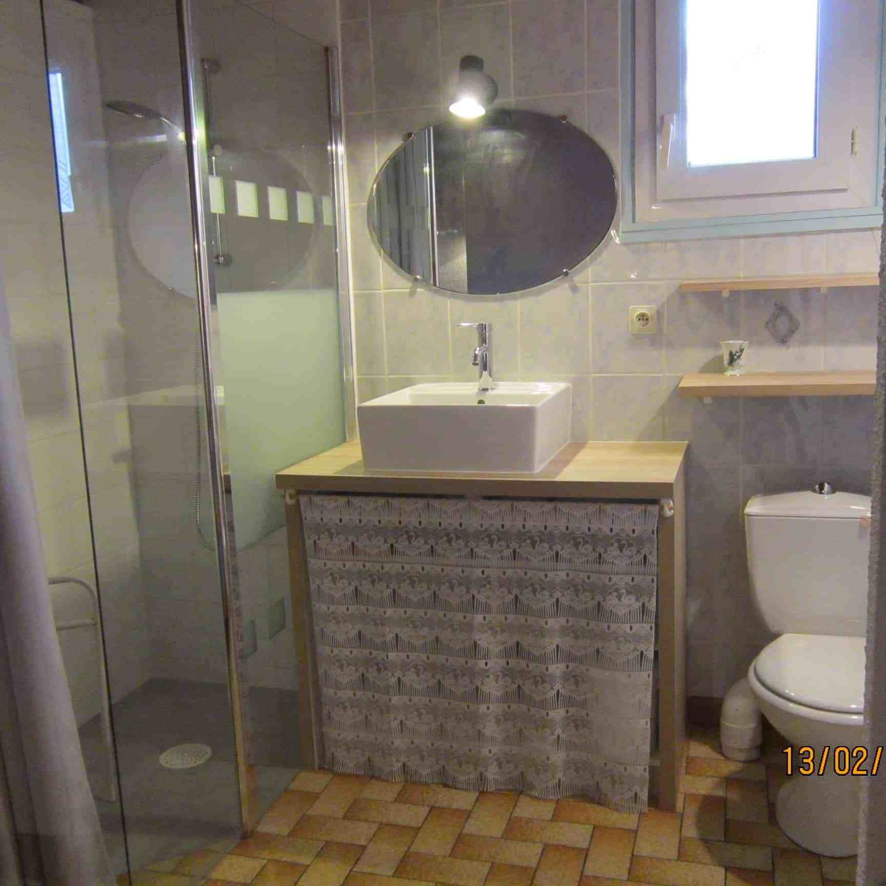Salle de bain Petite maison