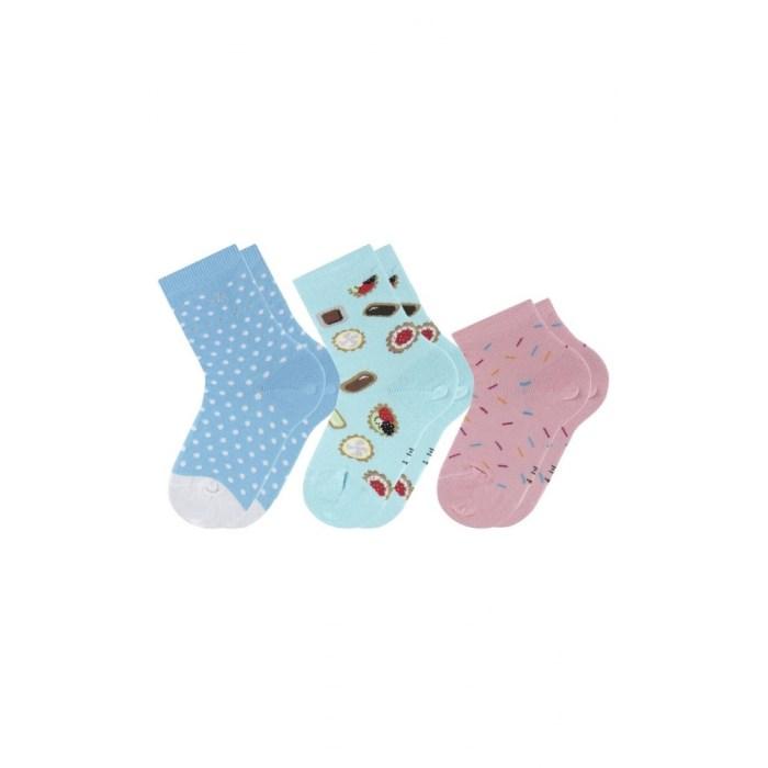 Lot de 3 paires de chaussettes fantaisies fillette Achile