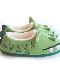 chausson crocodile de côté