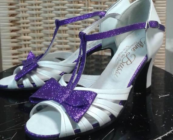 Chloé blanc violet