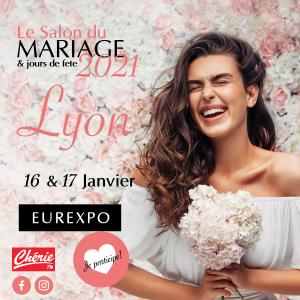 Salon du mariage Lyon Eurexpo 16 et 17 Janvier 2021