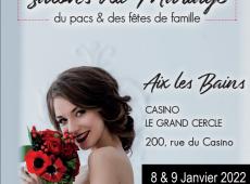 Salon du mariage Aix les Bains 8 et 9 janvier 2022