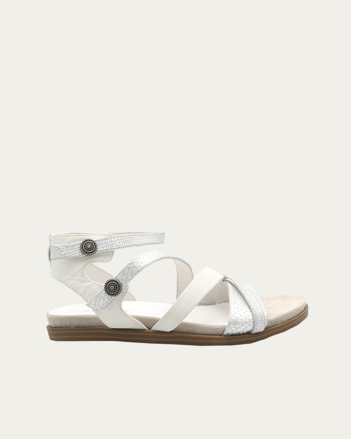 Sandale Baden Blanc