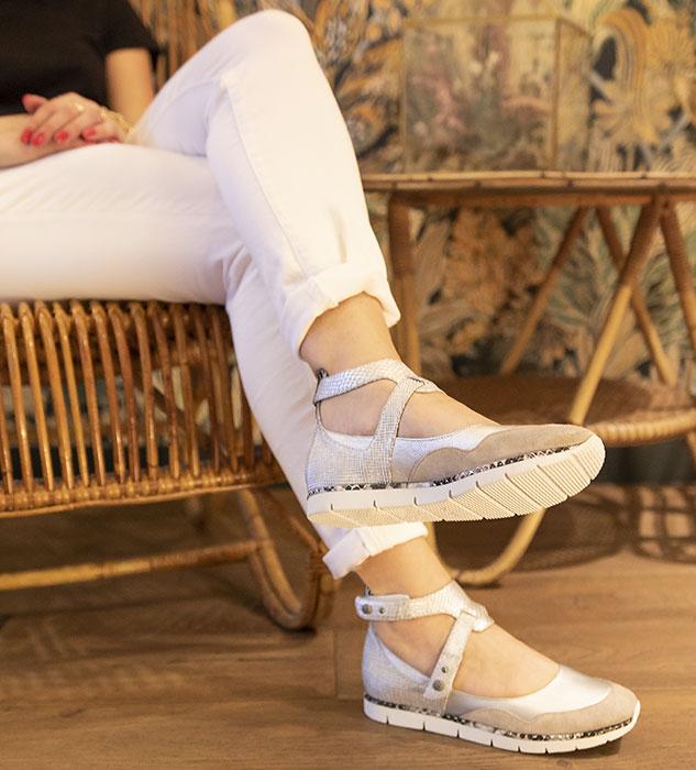 Chaussures type ballerines Julien